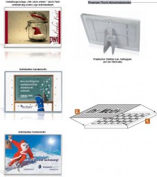 Premium Tisch-Adventskalender als Werbeartikel