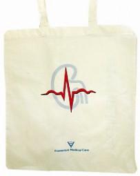 Baumwolltasche mit Logodruck als Werbeartikel