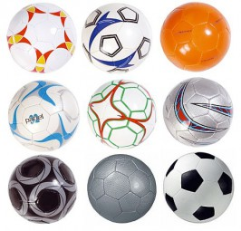 Fussball Fußball Fußbälle gross und klein Werbeartikel
