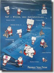 Adventskalender 6 mit Schokolade, völlig individuell Werbeartikel