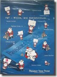 Weihnachtskalender mit Schokolade, völlig individuell Werbeartikel