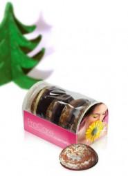 Lebkuchen 4 Minilebkuchen für Apotheken Werbeartikel