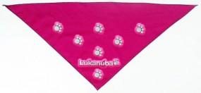 Halstuch mit Reflexdruck Logo reflektierend Werbeartikel