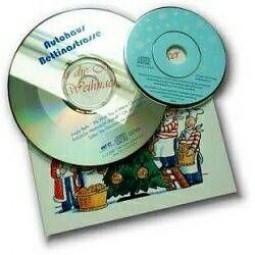Weihnachts-CD als Werbeartikel
