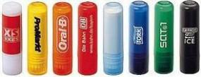 Lippenpflegestift `Labello` ähnlicher Lippenstift Lippenbalsam Werbeartikel