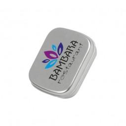 TinBox Pfefferminz Werbeartikel Obermoschel