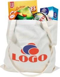 ShoppyBag (135 g/m²) lange Henkel tasche Werbeartikel Laucha