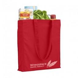 Colour Square Bag (160 g/m²) Baumwolltasche Werbeartikel Schwarzenborn