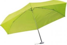 Ultra faltbarer Regenschirm Werbeartikel Goldberg