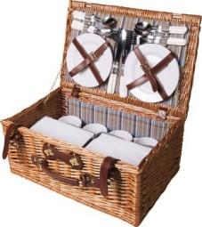 QualityTime Picknickkorb Werbeartikel Calden