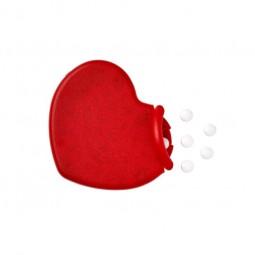 Pfefferminzbonbons Heart aus Kunststoff