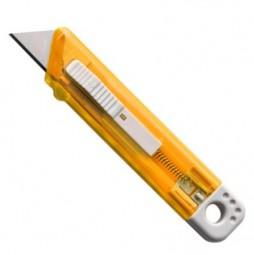 Cutter-Messer Mister mit Federkernautomatik aus Kunststoff