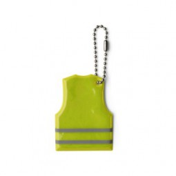 Schlüsselanhänger Warnweste aus PVC