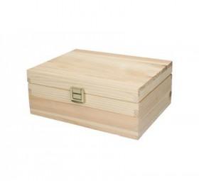 Holzbox Pino, klein mit Trennfächer Heldrungen