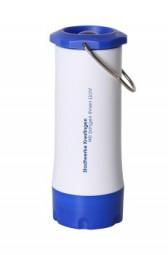 Lampe Mobil, weiss-blau Kölleda