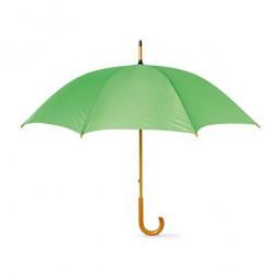 Regenschirm mit Holzgriff Werbeartikel Stößen