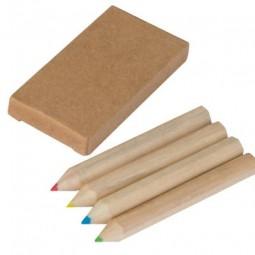 Set bestehend aus 4 Holzbuntstiften Friedrichroda