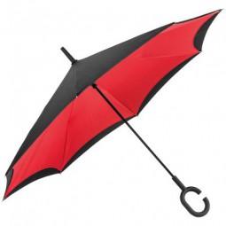 Umklappbarer Regenschirm aus 190T Pongee mit Griff zum Einhängen am Handgelenk Norderney