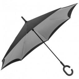 Umklappbarer Regenschirm aus 190T Pongee mit Griff zum Einhängen am Handgelenk Norderstedt