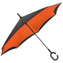 Umklappbarer Regenschirm aus 190T Pongee mit Griff zum Einhängen am Handgelenk Ruhland