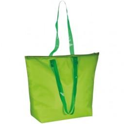 Strandtasche aus Polyester mit transparenten Henkeln Döbern