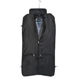 Kleidersack aus Polyester mit Metallschild Schmallenberg