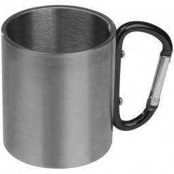 Tasse aus Metall mit Karabinerhaken Eltmann