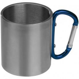 Tasse aus Metall mit Karabinerhaken Röthenbach