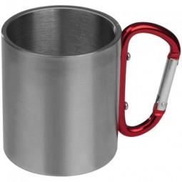 Tasse aus Metall mit Karabinerhaken Rothenberg