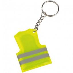 Schlüsselanhänger in der Form einer Sicherheitsweste Ahnatal