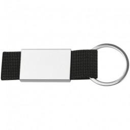 Schlüsselanhänger mit farbigem Stoffbändchen Miltenberg
