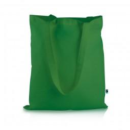Fairtrade Baumwolltasche Elsa green Werbeartikel