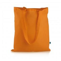 Fairtrade Baumwolltasche Elsa orange Werbeartikel