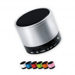 Bluetooth-Speaker mit SD-Kartenslot und Radio Pasewalk