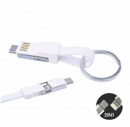 3in1 Mini Magnet Cable white Schrozberg