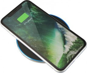 Wireless charger 10 W silber Löningen