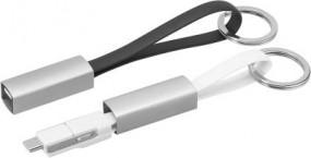 3-in-1 Keyring cable black Burghaun