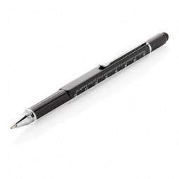 5-in-1 Aluminium Tool-Stift, schwarz Blomberg