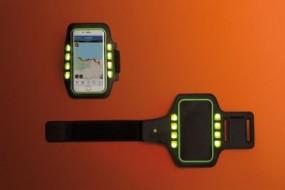 Laufarmband mit LED Enger Werbeartikel