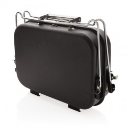 Tragbarer Deluxe Grill im Koffer Schwentinental Werbeartikel