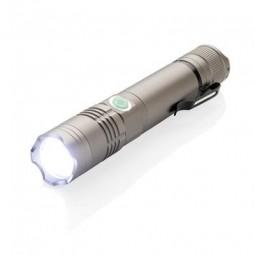 Wiederaufladbare 3W Taschenlampe Schlitz