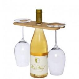 Mill Wein-Butler mit Weinflaschen- und Weinglashalterung Neuenrade