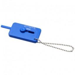 Kepi Schlüsselanhänger mit Reifenprofilmesser Eschborn