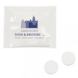 Mini Beutel mit 2 Dextrose Mints Werbeartikel Borken