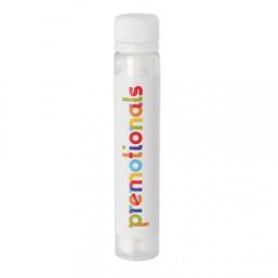 Tube transparent mit Kappe mit ca. 17 gr. DutchDex Dextrose Minties Label 4c-Druck Werbeartikel Wolf