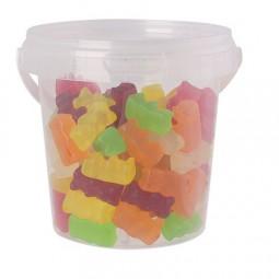 Eimerchen 670 ml gefüllt mit Bonbons Kategorie SPEZIELL Deckel mit 4c Label Werbeartikel Alsbach-Häh
