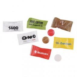 Werbebeutel mit einem Bonbon Werbeartikel Weener