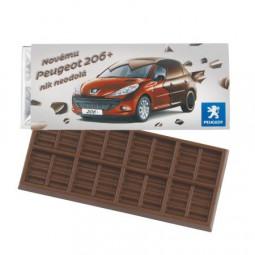 Schokoladentafel 50 gr. Barry Callebaut Werbeartikel Gerbstedt