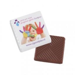Schokolade 5 gr. Barry Callebaut 4-c Druck auf Wickel Werbeartikel Großalmerode