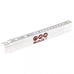 Zollstock 2 Meter aus Glasfaser kalibriert laut EG Normierung Klasse 11 Werbeartikel Espelkamp